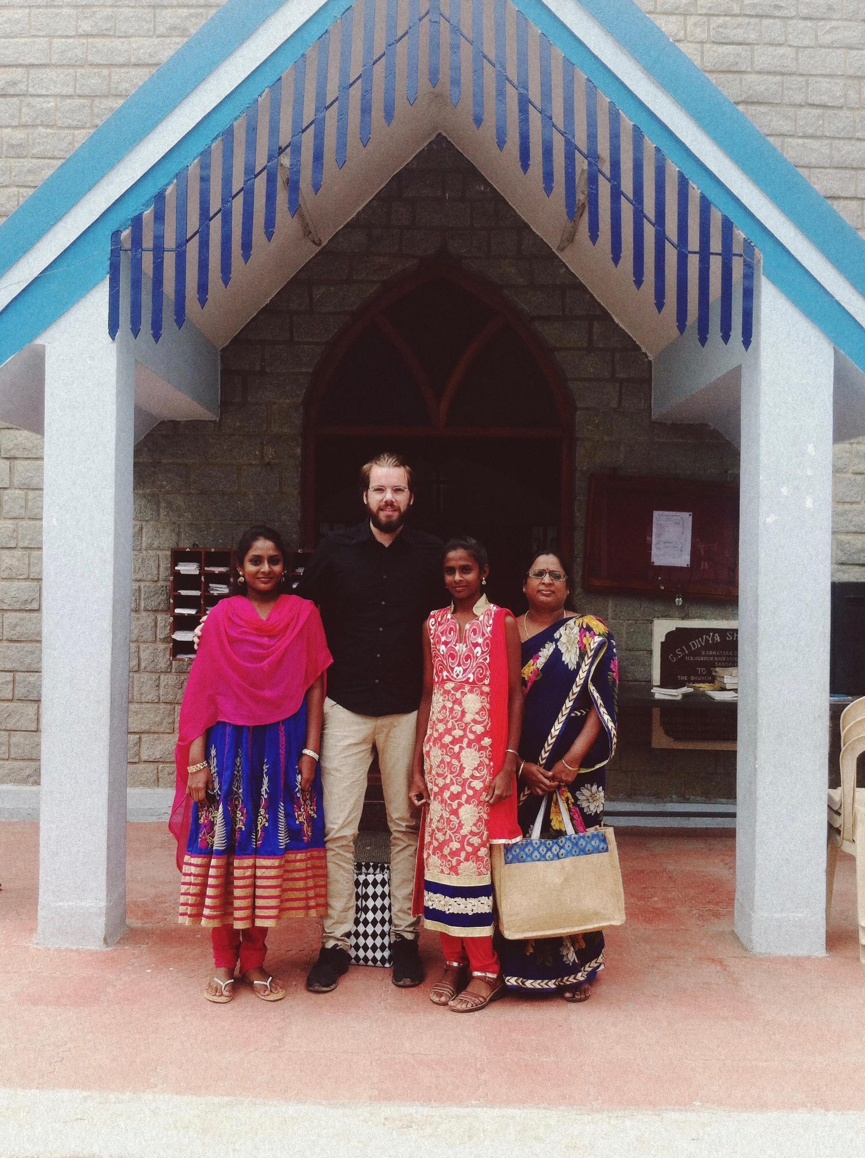 Met mijn vader mee op reis naar India